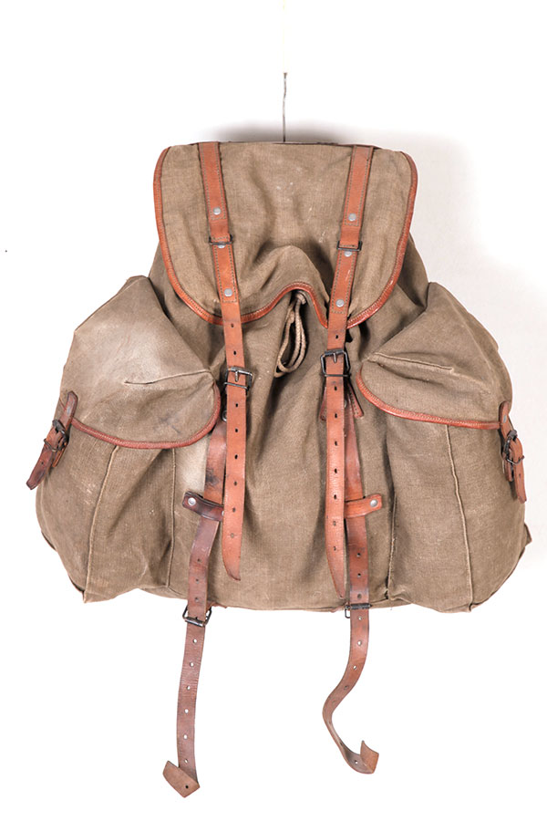 1940's french military backpack
