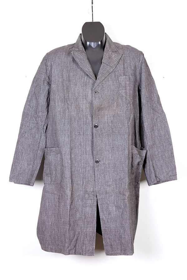 1950's salt & pepper atelier coat