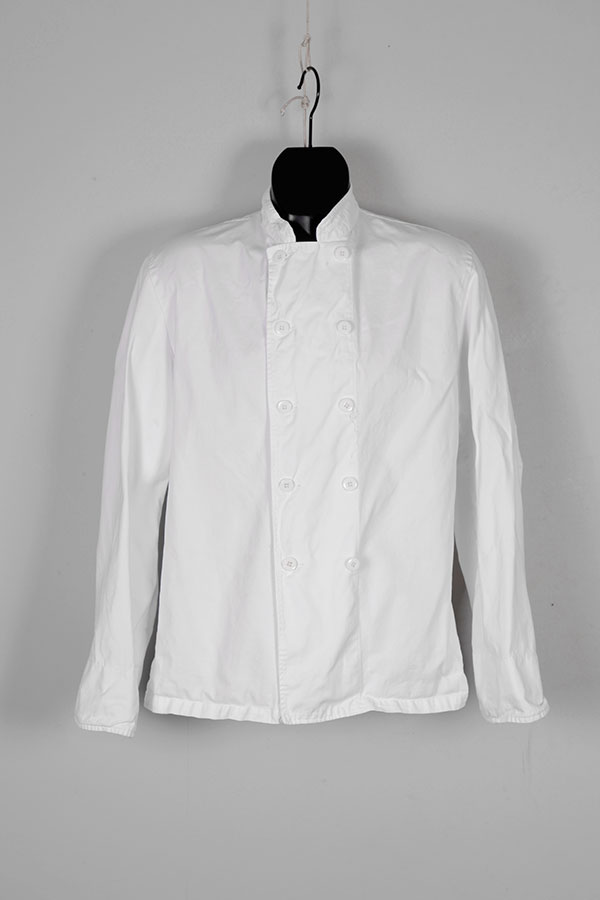 1960's french cook double-breasted jacket