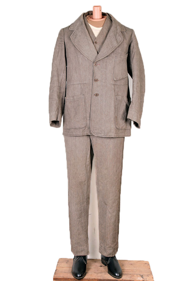 Early 1900's 3 pieces summer suit