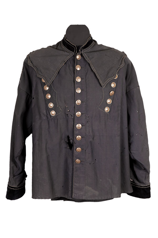 1899 Alsatian potash mine foreman jacket