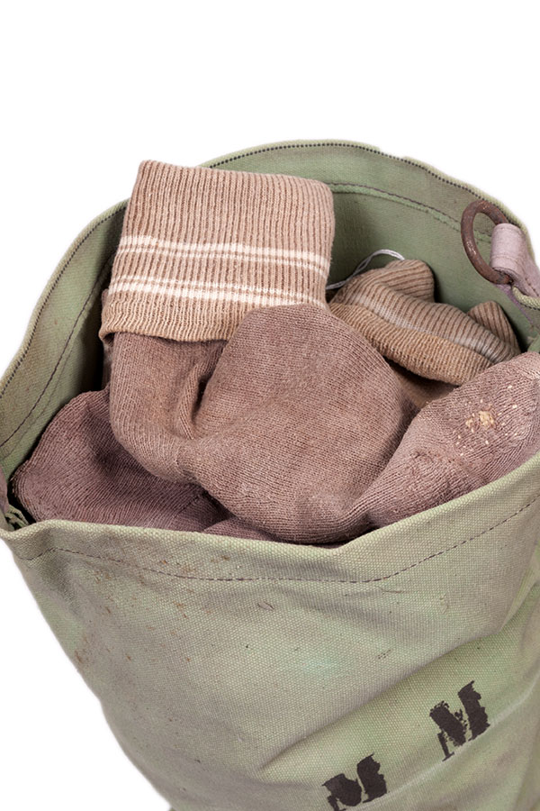 1930's french farmer darned wool socks