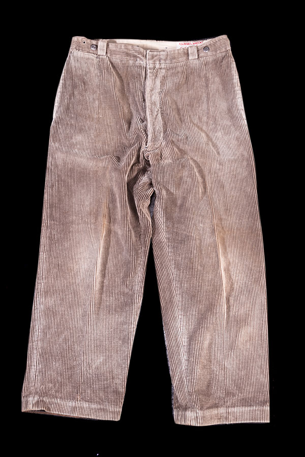 1930's french Le Super Barbele cord work pants