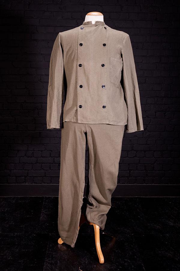 1950's kaki linen suit
