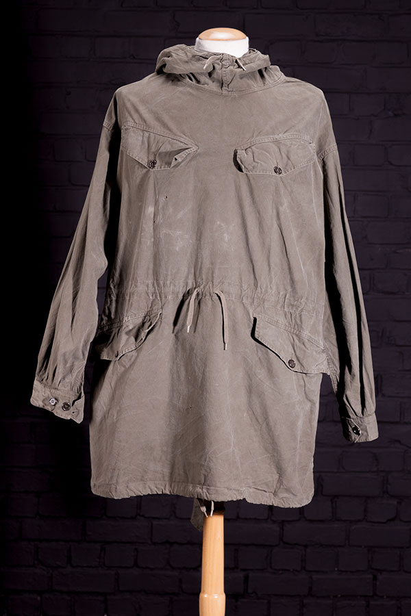 1950's french army kaki smock