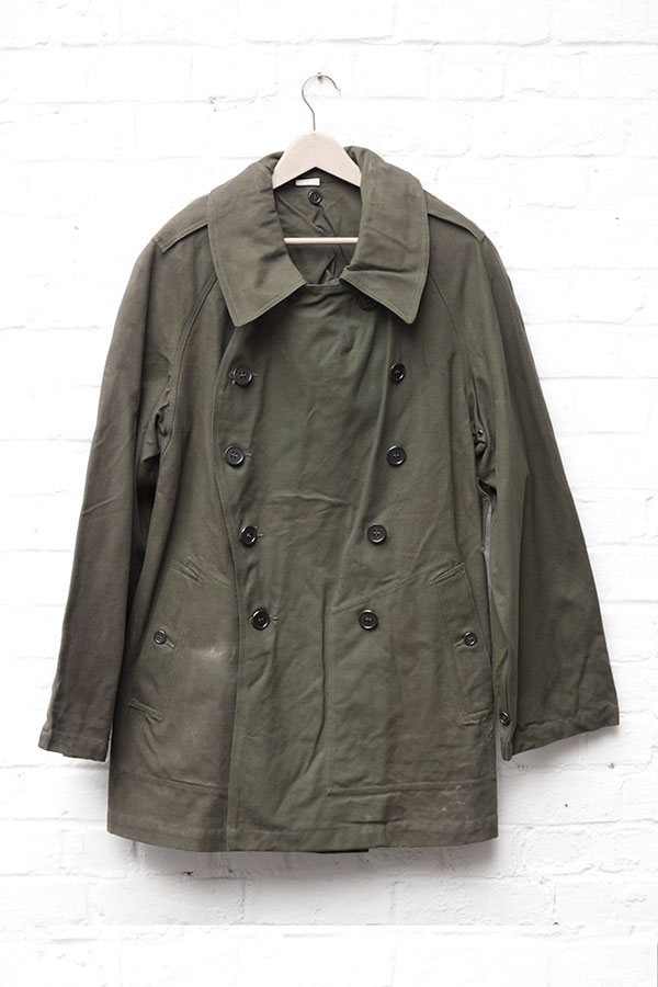 Deadstock 1938 french army motorcyclist coat