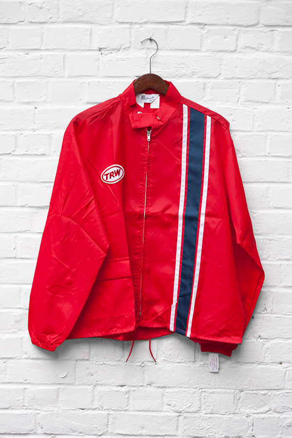 1960's deadstock US nylon red TRW sport