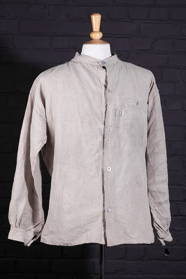 1895 pattern French army linen chore jacket