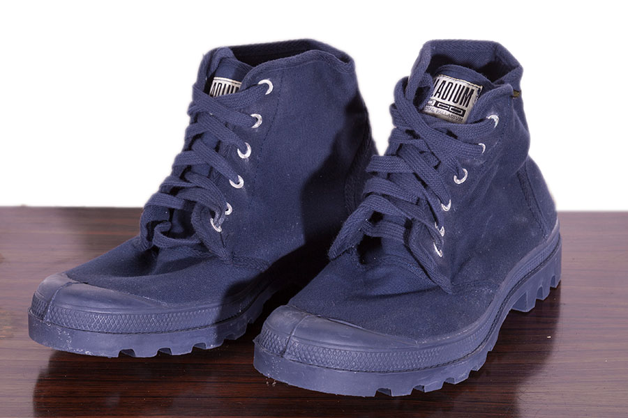 1980's deadstock french indigo Palladium Pampa High