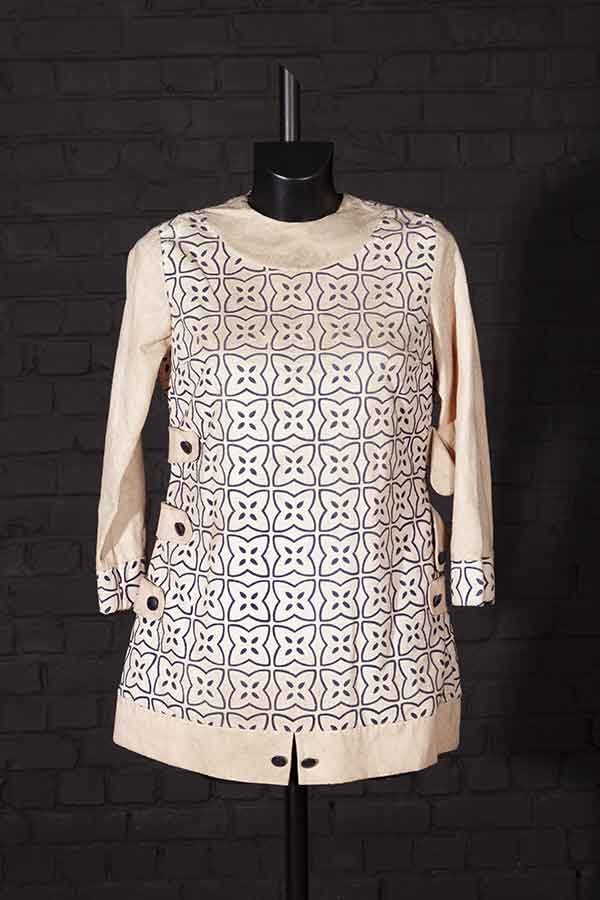 1960's french woman tunic