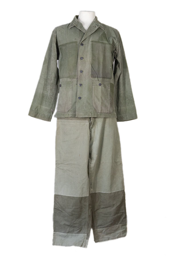WWII US Army HBT fatigue uniform