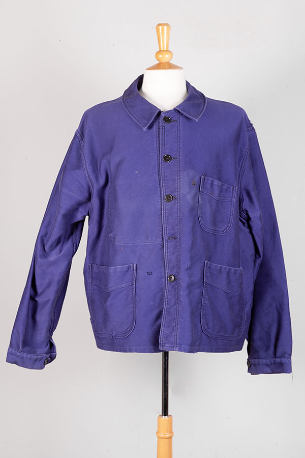 1950's french Adolphe Lafont moleskin work jacket