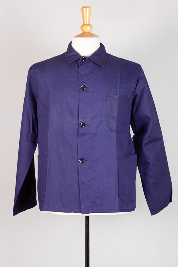 1940's Belgian indigo linen jacket
