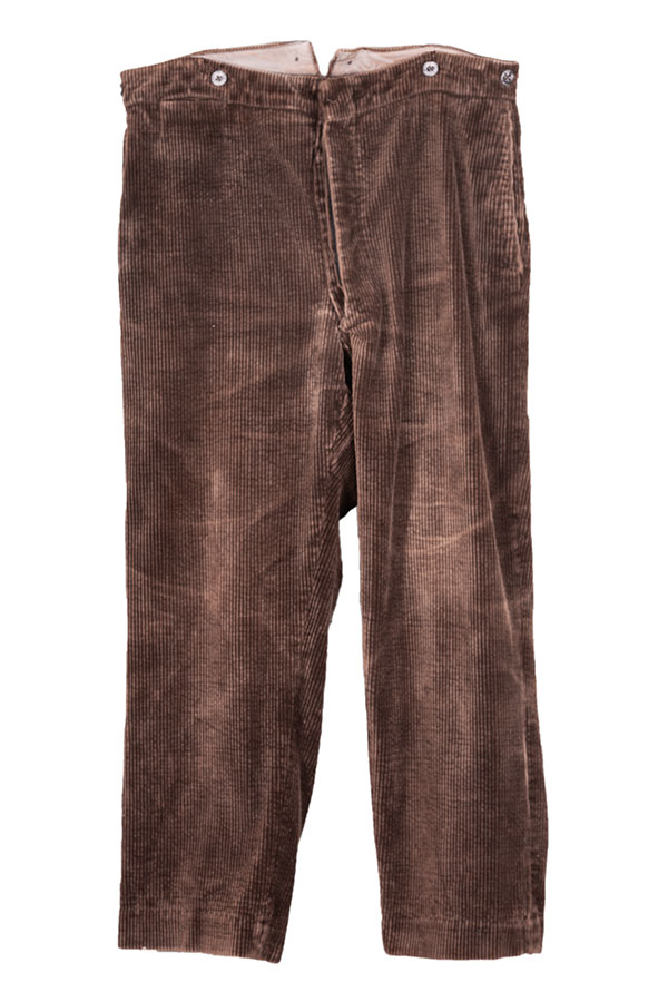 1930's french Cedufer cord work pants