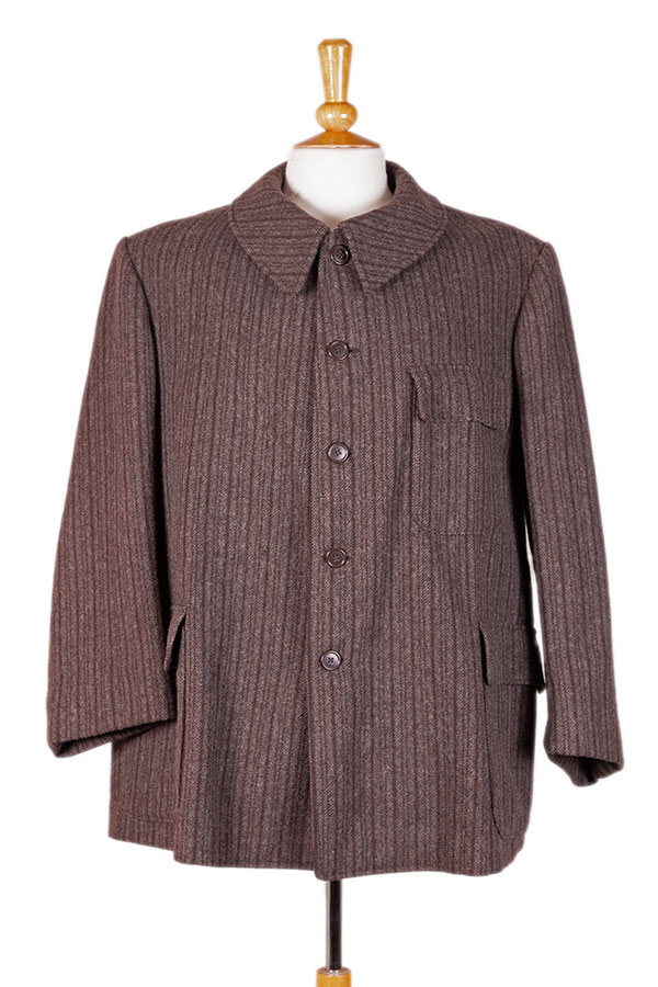1950's french carpenter wool jacket