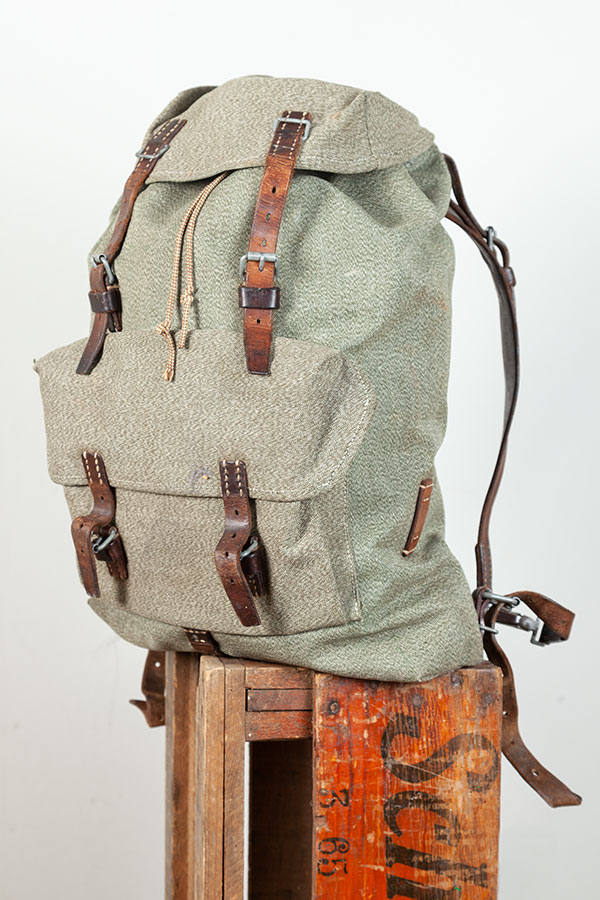 1958 Swiss army backpack, lemagasin, le magasin, vintage bags