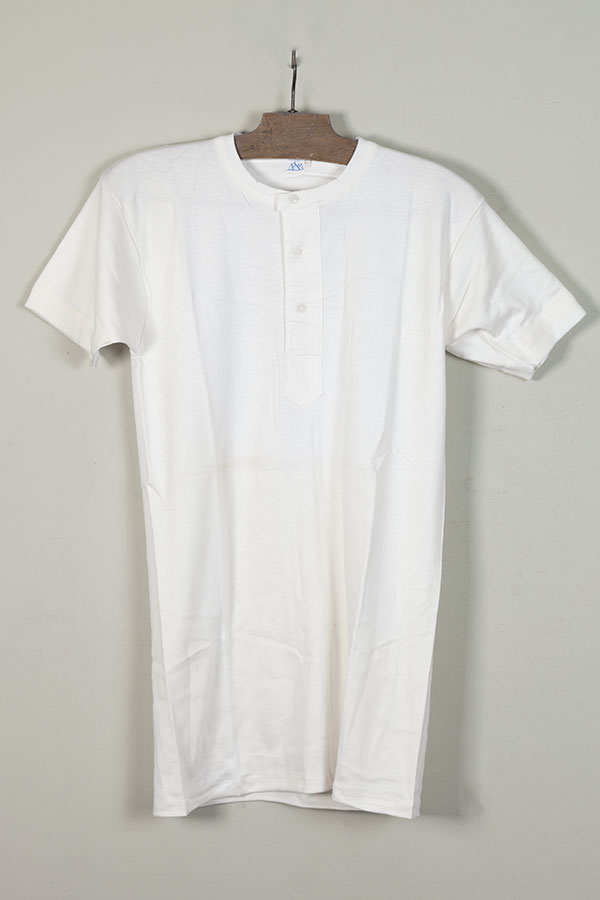 1960's deadstock Peruvian cotton henleys