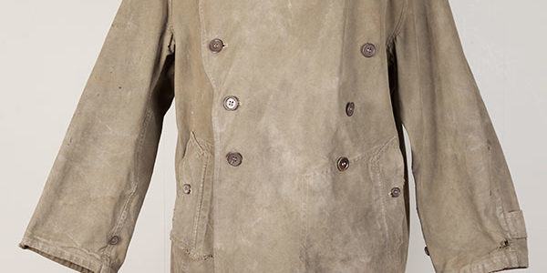 Rare first pattern 1937 french army motorcyclist coat
