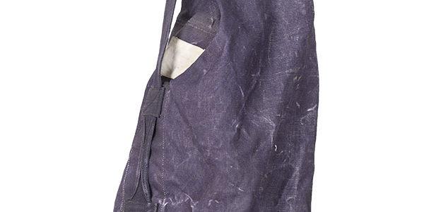 1962 Belgian Force Navale denim kit bag