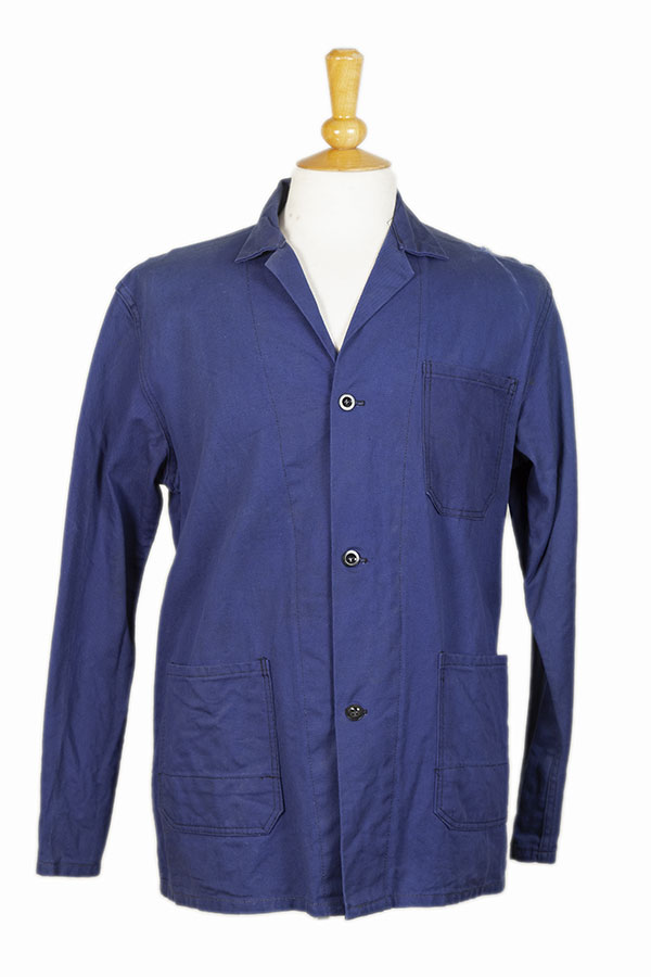 1950's belgian blue work jacket