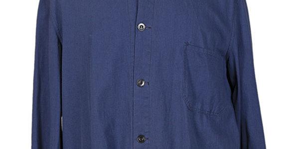 1960's belgian blue linen work jacket