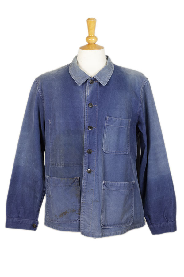 1950's SAVO belgian blue work jacket