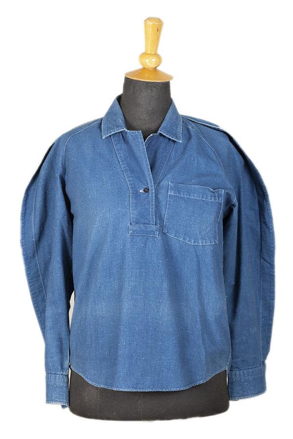 1980's Kenzo indigo shirts