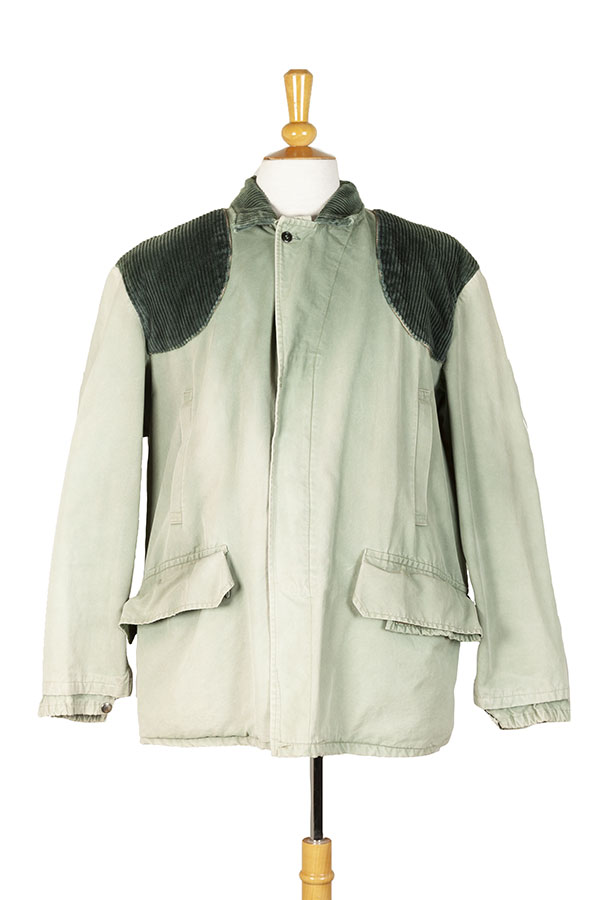 1960's french pale green hunting jacket