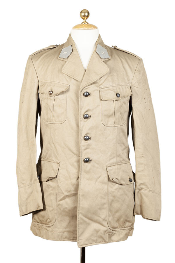 1954 french army cavalry officer linen jacket