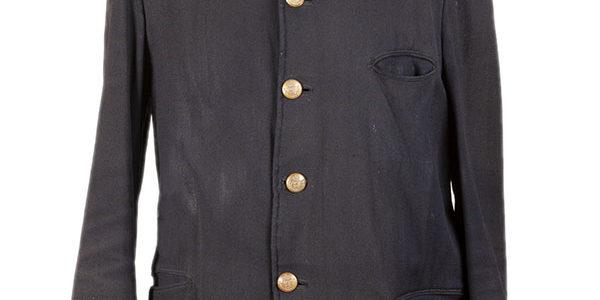 1920's belgian postman wool jacket