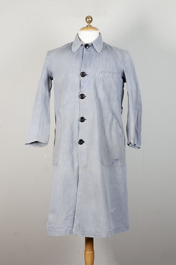 1950's french chambray atelier coats