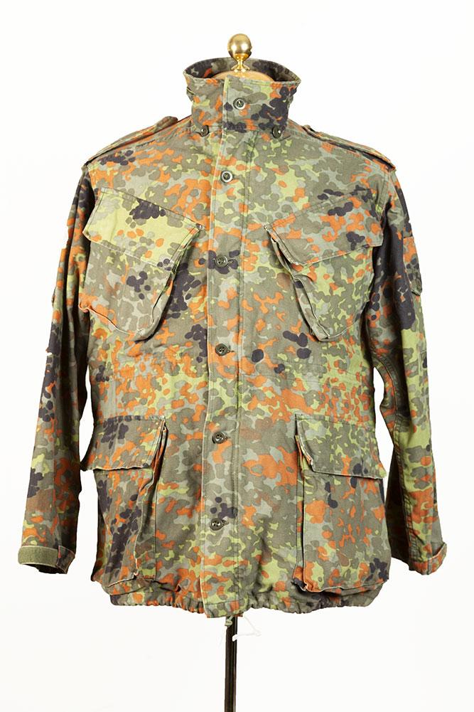 1990 Belgian army camo jacket