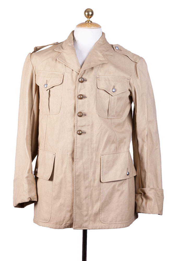 1950's french Gendarmerie Coloniale linen jacket