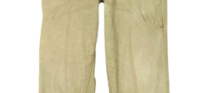 1950's Indochina/ Algeria era french kaki army pants