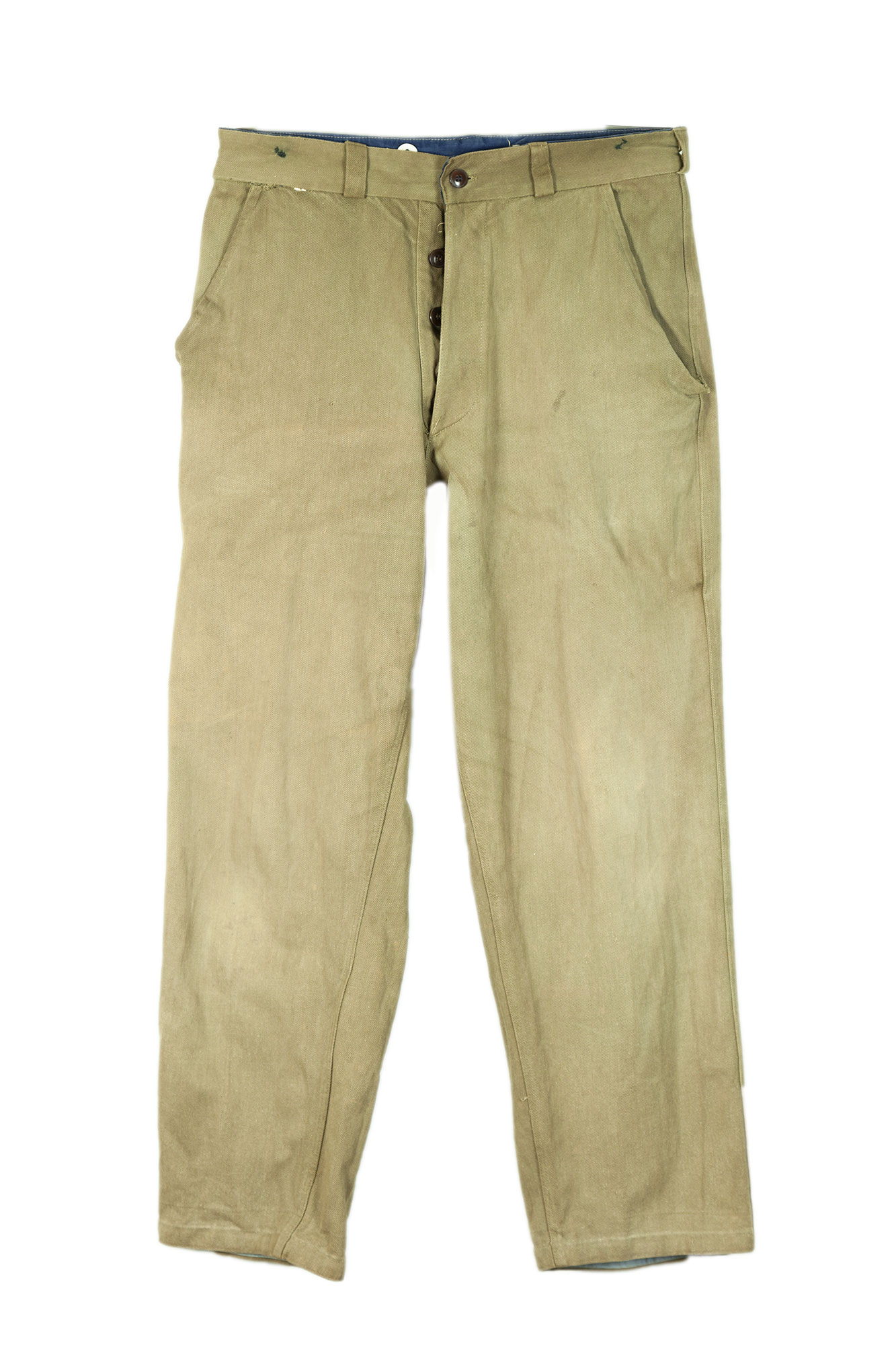 1950's Indochina/ Algeria era french kaki army pants