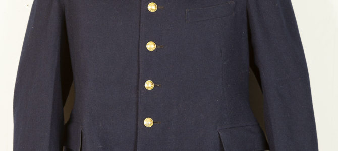 1951 french postman wool jacket