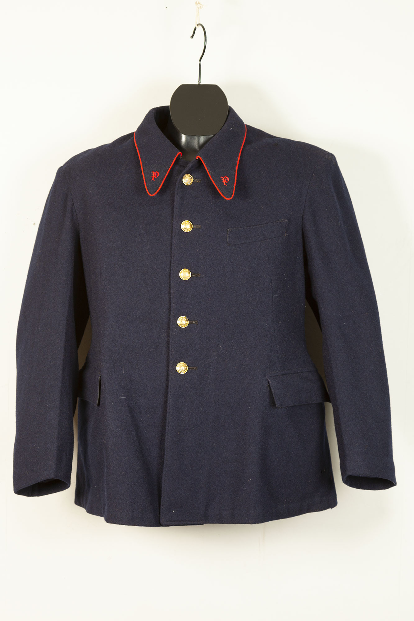1951 french postman wool jacket