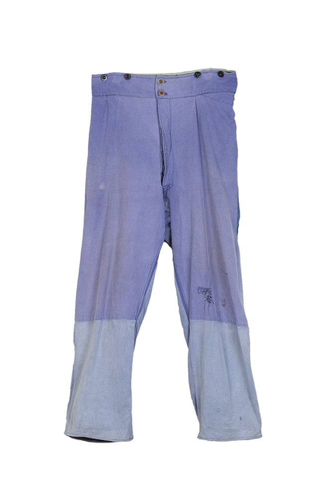 1940's belgian patched work pants