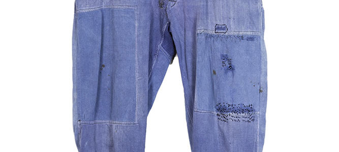 1950's Belgian patched work pants
