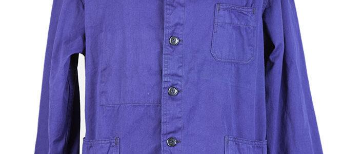 1950's deadstock blue work jacket