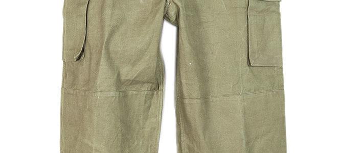 French army M47 kaki pants