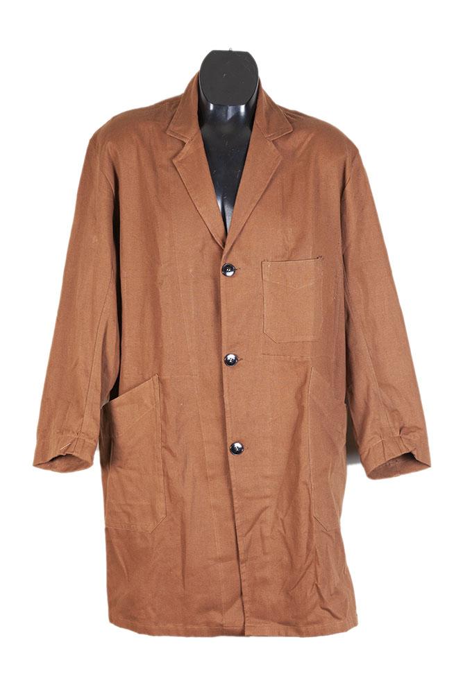 1950's nos duck brown cotton atelier coat