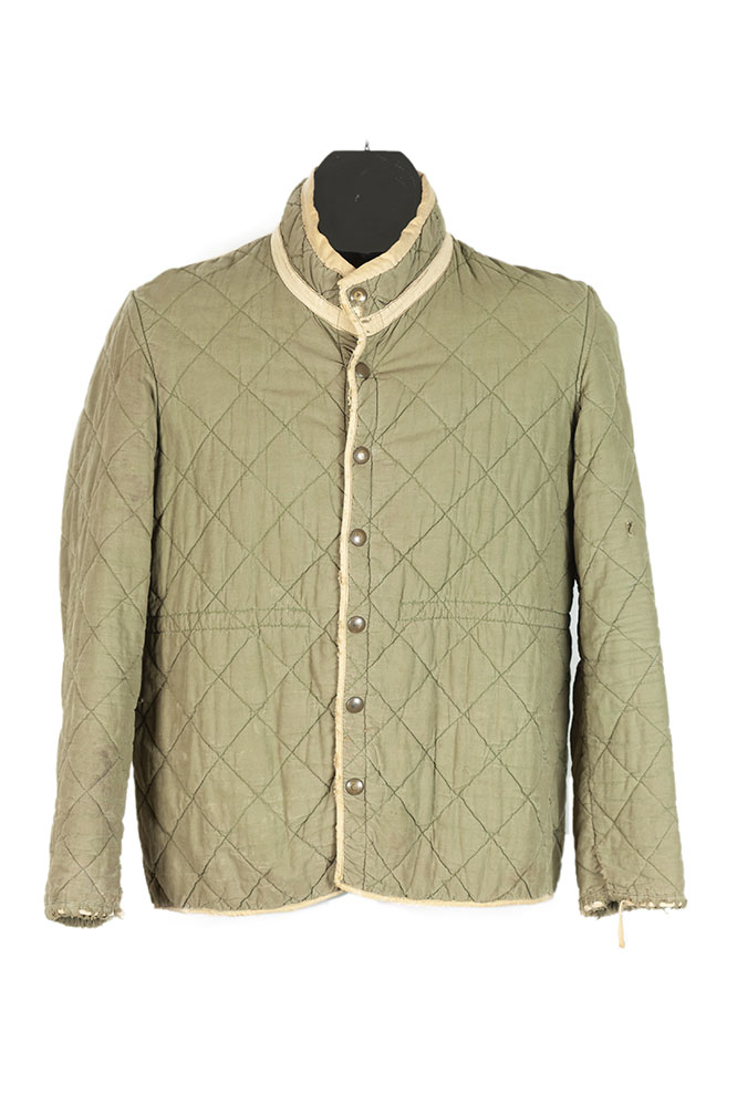 1950s french army quilted jacket