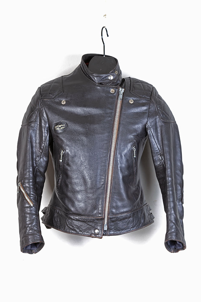 1970s Lewis Leathers Super Monza women leather jacket