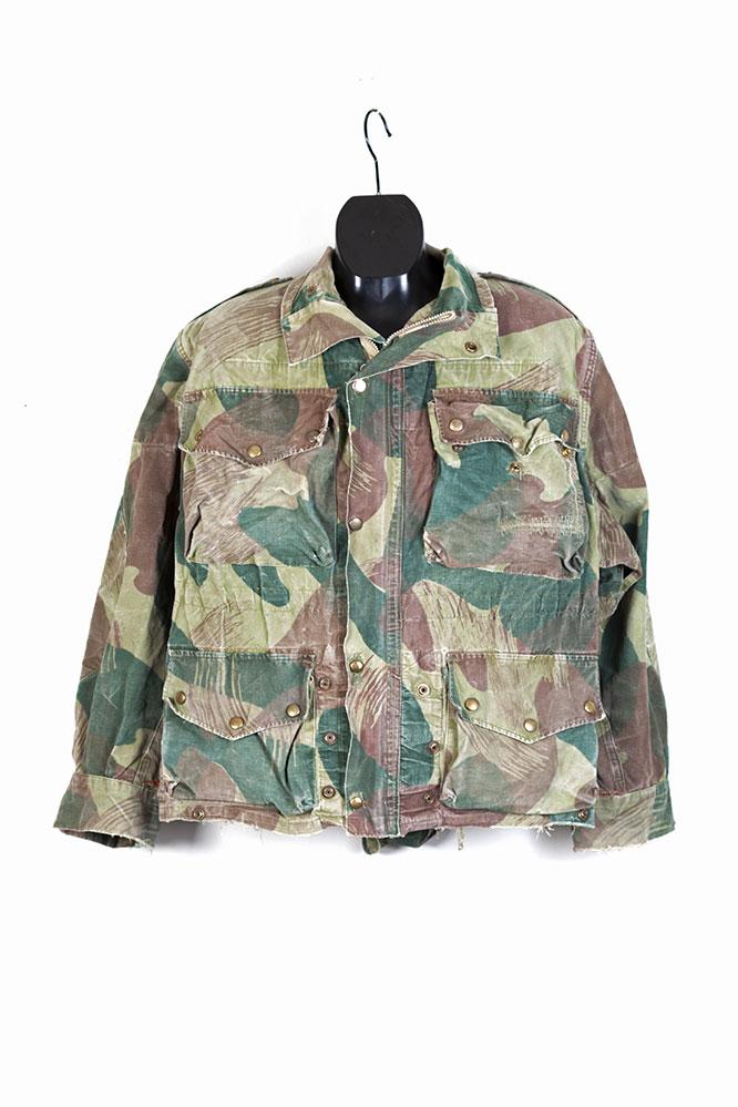 1956 Belgian army Brushstroke camo jacket