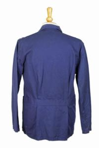 1950's belgian blue work jacket, lemagasin,  vintage clothing, french workwear, antique clothing, french antique clothing