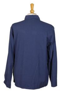 1960's belgian blue linen work jacket, lemagasin,  vintage clothing, french workwear, antique clothing, french antique clothing