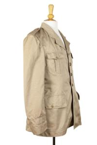1950's french army officer linen jacket, emagasin,  vintage clothing, french workwear, antique clothing, french antique clothing