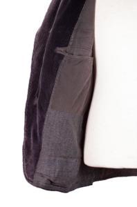 1930's french cord sack coat, lemagasin,  vintage clothing, french workwear, antique clothing, french antique clothing, sack coat