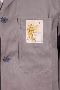 1950's belgian beige work shore jacket